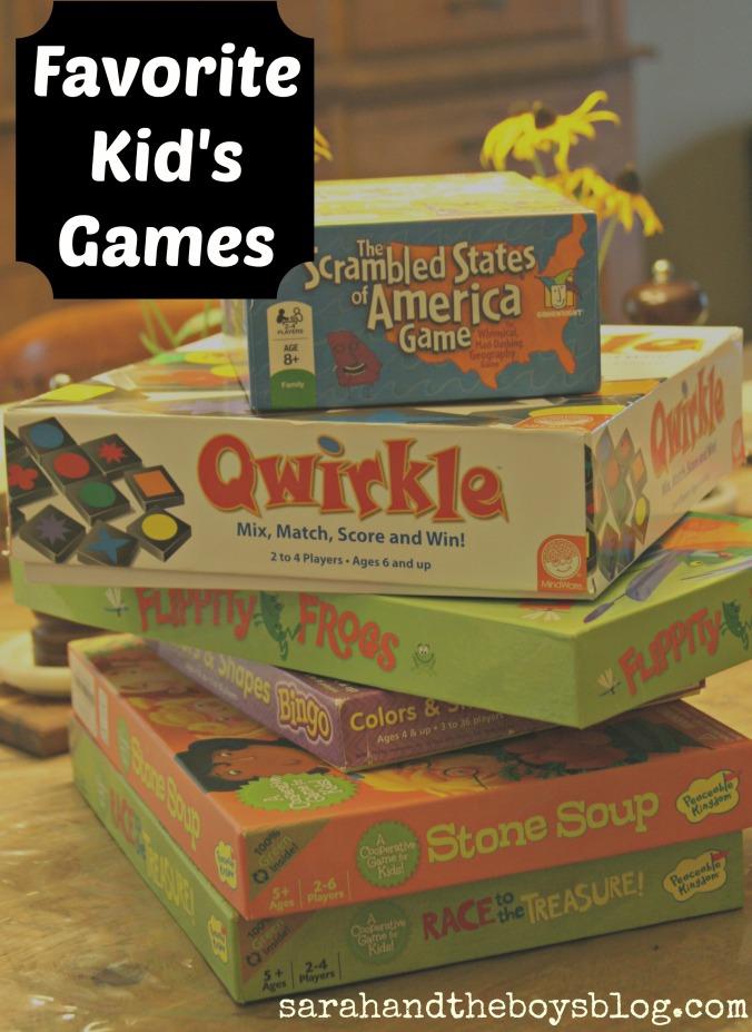 favorite kid's games // sarahandtheboysblog.com