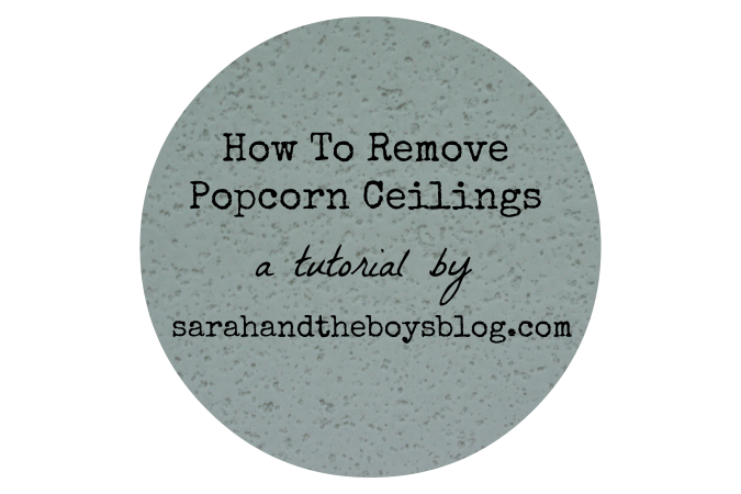 How To Remove Popcorn