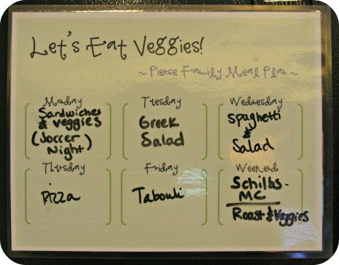 meal planner //sarahandtheboys.com