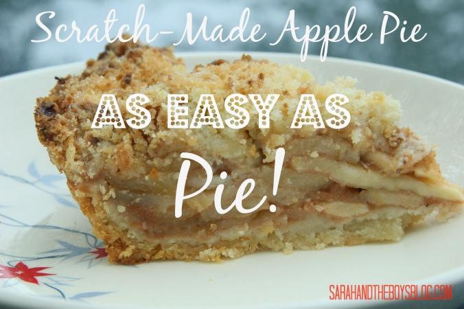 Scratch Made Apple Pie