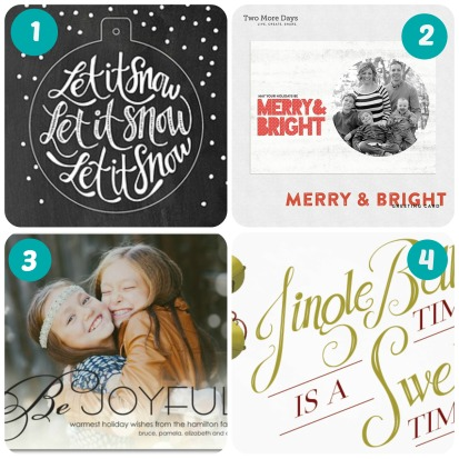 holiday cards college