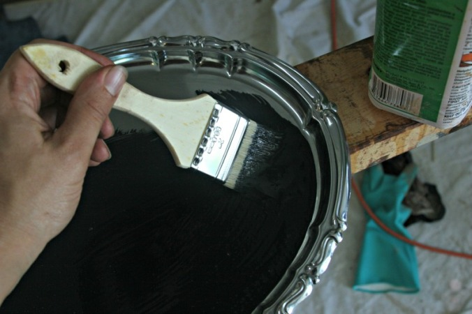 painting platter