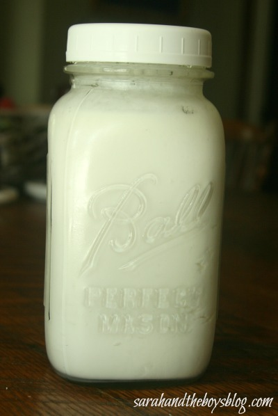 Kefir In Jar