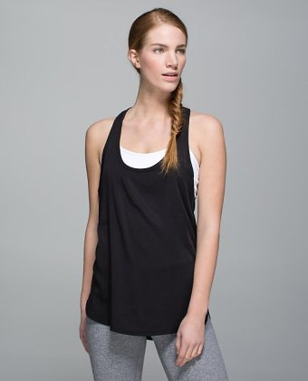 lulu loose fitting tank